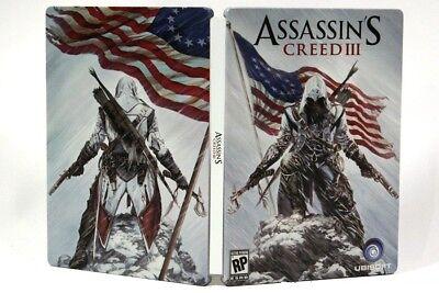 Assassin S Creed Iii 3 Steelbook Case Brand New Assassins Ebay