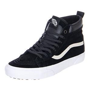 Dettagli su Vans Sk 8 Hi Mte BlackTrue White Sneakers Alte Uomo Nero