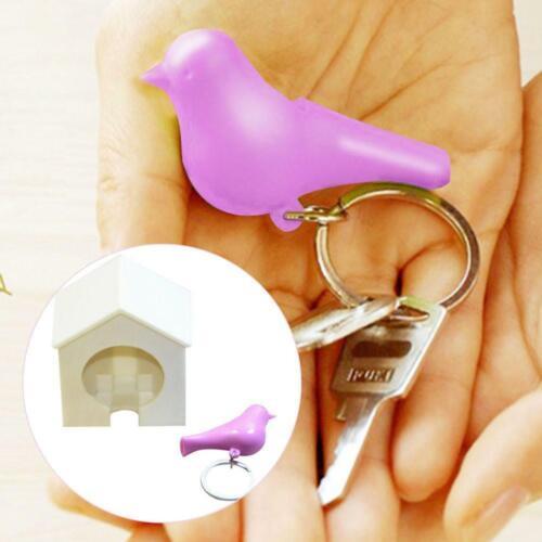 Novelty Lovers/' Bird House Key Ring Key Chain Home Wall Arts Key Hook