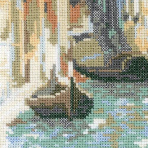 RIOLIS  1552  Venise  Pont des Soupirs  Broderie  Point de Croix compté