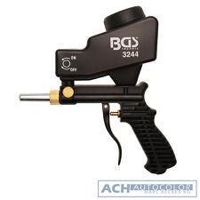 BGS Druckluft Sandstrahlpistole Sandstrahlgerät Sandstrahler mit Ansaug Schlauch