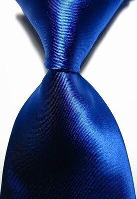 Classic Solid Plain of 12 Pure Colors Jacquard Woven 100% Silk Men's Tie Necktie