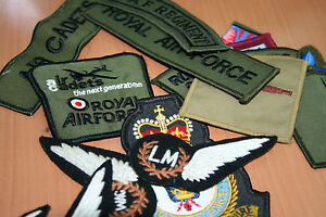 British Army/Navy/RAF Badges Insignia Patches