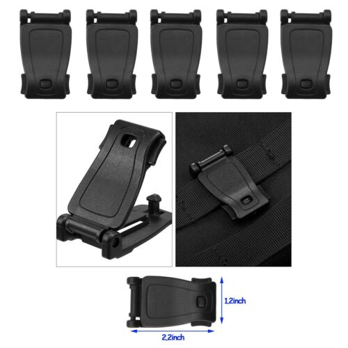 Tactical Gear Clip Molle Webbing Attachments for Tactical Bags Backpack 35 Pack