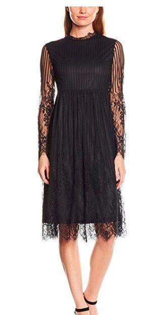 Nougat London Women's Primpink Lace Dress Size 10 RRP (2191)