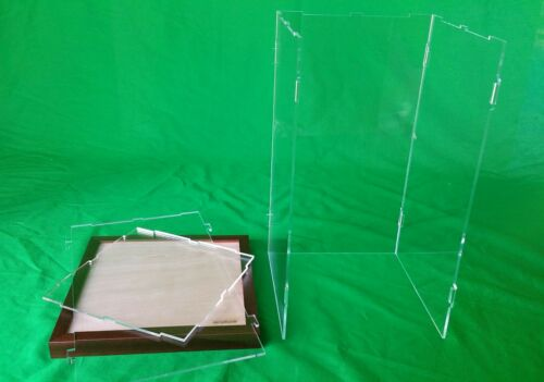 10 x 10 x 18 Display Case for Hot Toy Figures 1//6 Scale Statue Doll LED Light