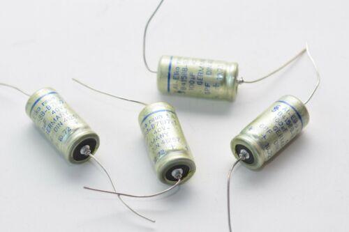 NOS 100 µF 4x Elko-Kondensator Siemens Halske Typ B41588 rauh IA GPF 40 V