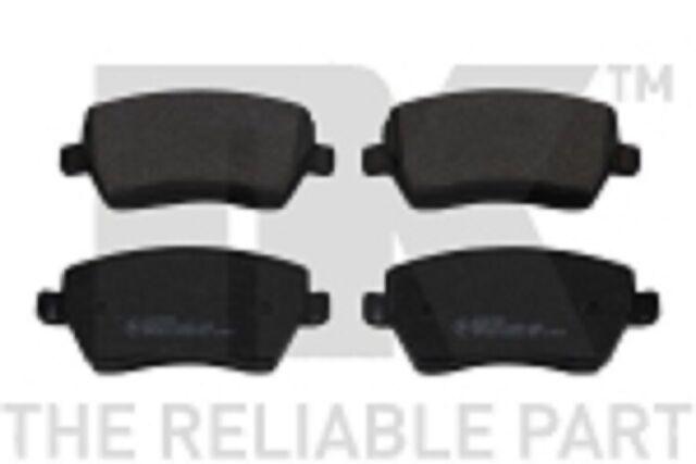 13.0460-5801.2 ATE 4x Bremsbeläge Bremsbelagsatz Vorne für Nissan Micra 3 K12