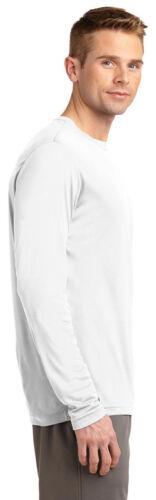 NEW Men/'s SPORT TEK Dri-Fit Big /& Tall Long Sleeve T-SHIRT LT-4XLT TST350LS