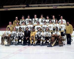 BOSTON BRUINS 1972-73 TEAM PHOTO 8X10 | eBay Bruins Roster 1972