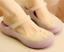 Femme Jelly Hollow Out T-Strap Flat Non-Dérapant Escarpins Chaussons Sandales Chaussures