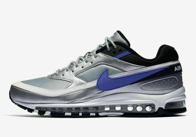 Nike Air Max 97 BW Skepta Metallic Silver Purple Violet Ao2406 002 Size 12