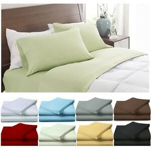 Image Is Loading Egyptian Comfort 1800 Series Deep Pocket 4 Piece