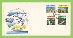 New Zealand 1985 Scenic Issue, Bridges set First Day Cover