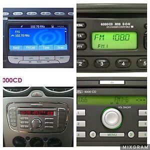 ford v m radio code unlock pin decode 6006 cdc 6000 sony. Black Bedroom Furniture Sets. Home Design Ideas