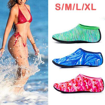 Unisex Aqua Shoes Mens Womens Water Socks Slip On Sea Wet Beach Swim Surf HH