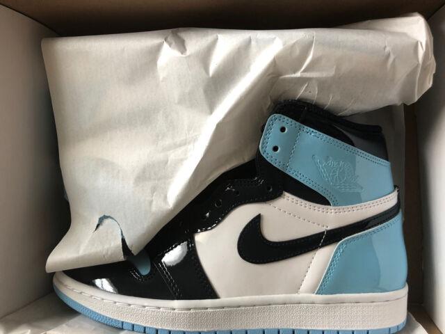 Nike Air Jordan 1 Retro High OG Women Athletic Shoes- Blue Chill, Size 8