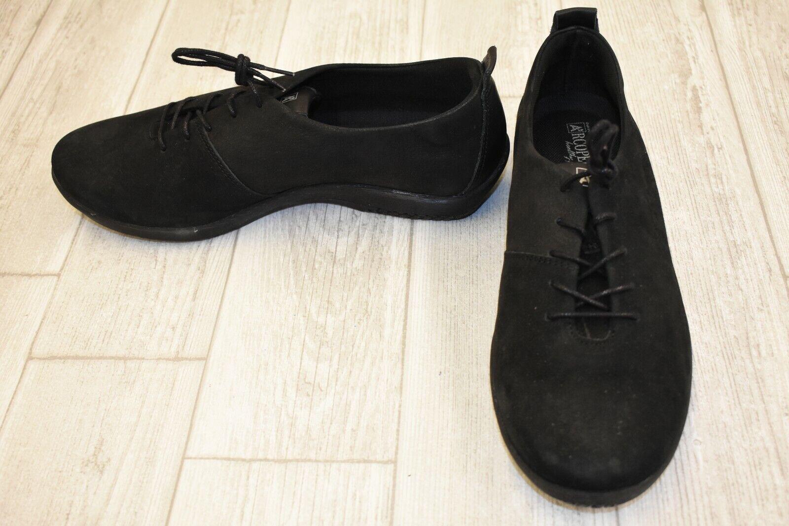 Arcopedico Francesca Oxford Zapato-Para Mujer Negro