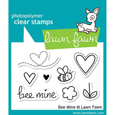 """Lawn Fawn Clear Stamps 4/""""x6/""""-fab Flowers"""