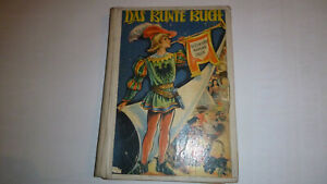 DAS-BUNTE-BUCH-Maerchen-Geschichten-Sagen-von-Domany-ORIGINAL-50er-Jahre-RAR