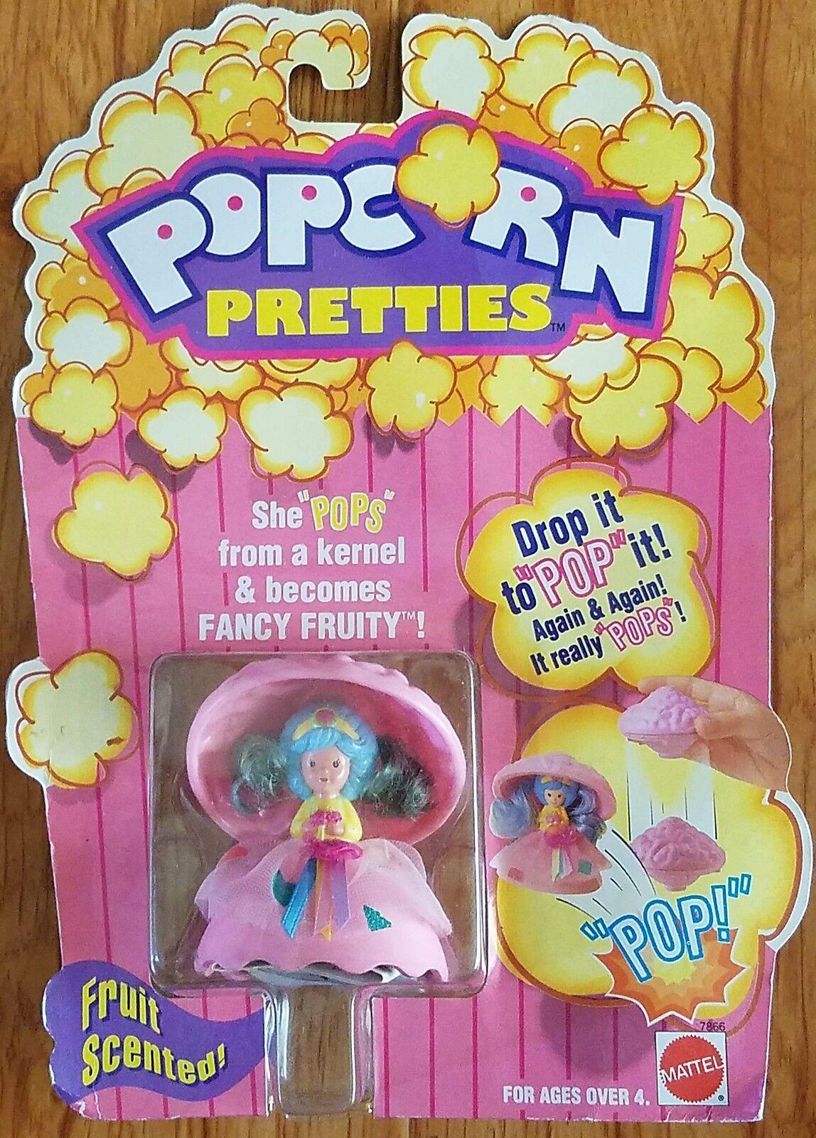 Vintage - spielzeug von mattel 1991 popcorn - püppchen - fruchtigen moc brandneu selten