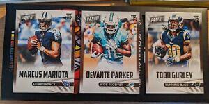 Marcus Mariota DeVante Parker Todd Hurley 2015 Rookie Card Lot NFL
