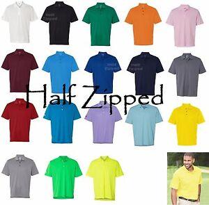 Adidas-Golf-ClimaLite-Basic-Short-Sleeve-Polo-Sport-Shirt-A130-S-4XL-18-Colors