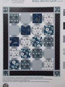 Star Wars Quilt Kit The Force Awakens Baby Blocks Top Camelot