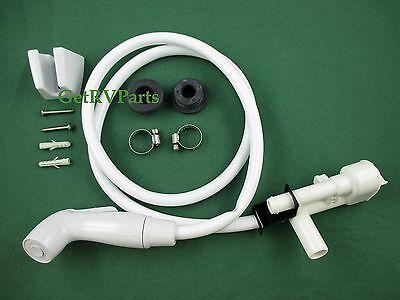 Dometic Sealand 385319054 Toilet Vacuum Breaker With Hand Spray Kit