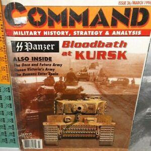 BOARD-WAR-GAME-Mag-Command-36-SS-Panzer-Bloodbath-at-Kursk-Prokhorovka-op-96