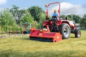 Details about BORA214 - Bora Heavy Duty Italian Flail Mower - 2 14m Wide  For Compact Tractors