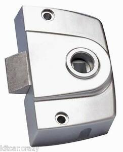 Details about INTERIOR 3 POINT T-LOCK DOOR SLAM LATCH , SILVER, MOTORHOME,  CARAVAN,