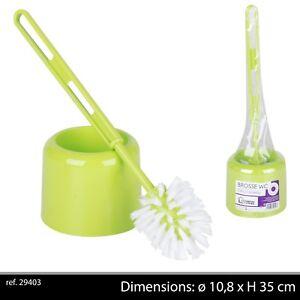 Details Sur Brosse Wc Vert Anis Balayette Toilette Cabinet Salle De Bain Plastique Abattant