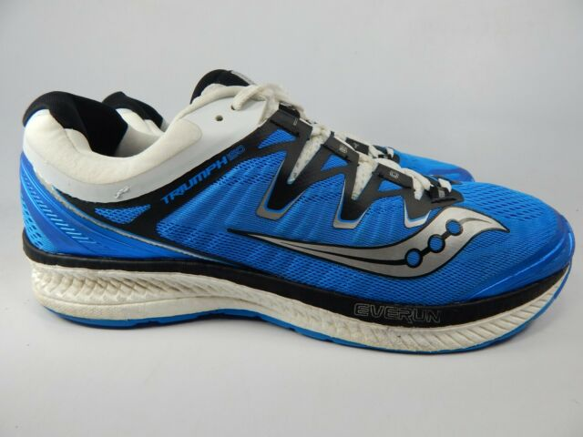 Saucony Men's Triumph ISO 4 Gymnastics Shoes Blue Blueblackwhite 2 9.5 UK EU