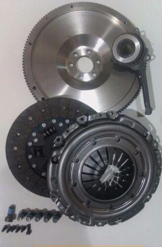 VW BORA 1.9TDI 1.9 TDI 130 ASZ  FLYWHEEL CLUTCH KIT CSC /& ALL BOLTS
