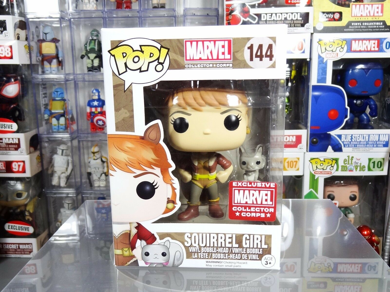 Funko POP  Marvel Collector Corps Exclusive Squirrel Girl  144