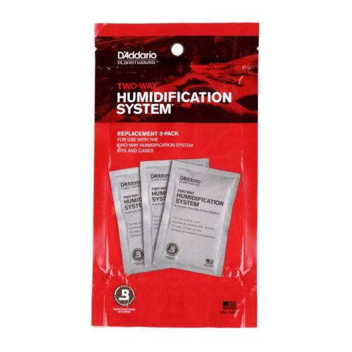 Planet Waves Humidipak Guitar Humidity System Replacement Packets 3-pack