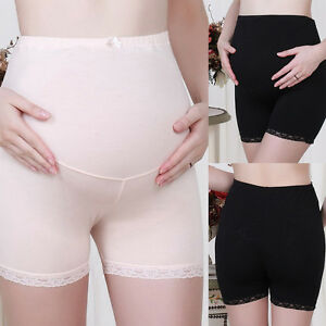 29cd3e1f35e Image is loading Pregnant-Women-Panties-Belly-Support-Shorts-Soft-Maternity-