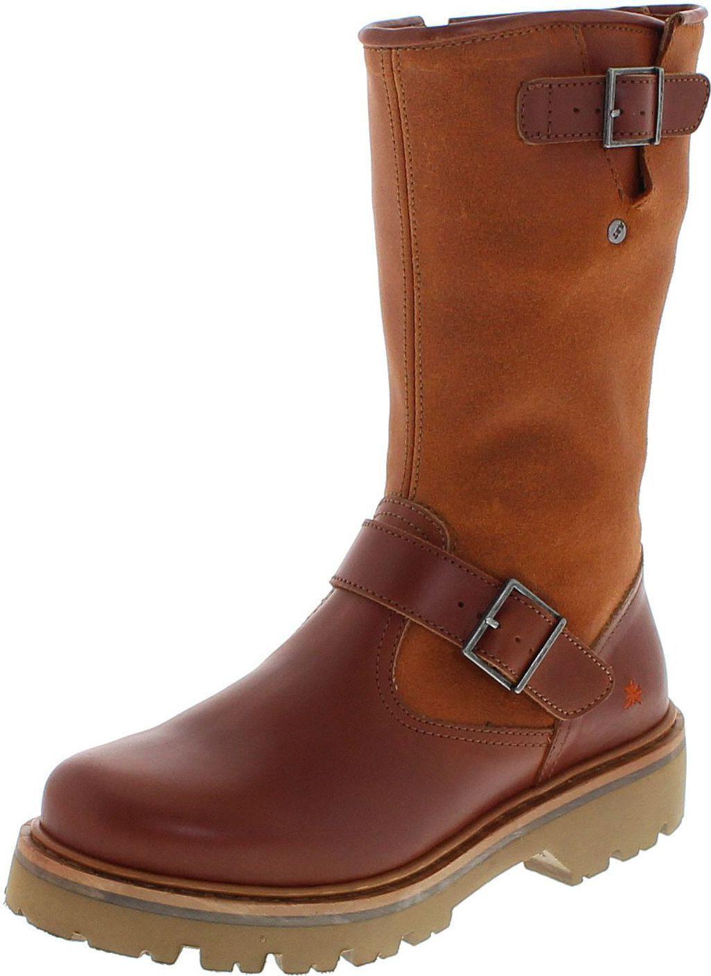 Tipo marina 1189 Heritage-Wax cuero/señora botas marrón/Zapatos señora/señora Boots