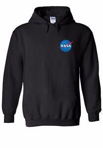 NASA-Space-Rocket-Moon-Pocket-Men-Women-Unisex-Top-Hoodie-Sweatshirt-1501