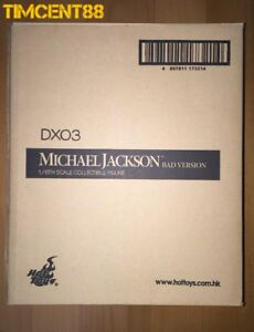 Ready-Hot-Toys-DX03-Michael-Jackson-Bad-Version-1-6-Figure-Sealed-New