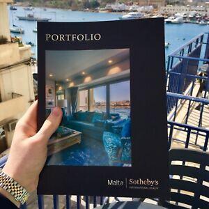 Genuine Sotheby S Auction Malta Portfolio Real Estate Catalogue Book Architect Ebay