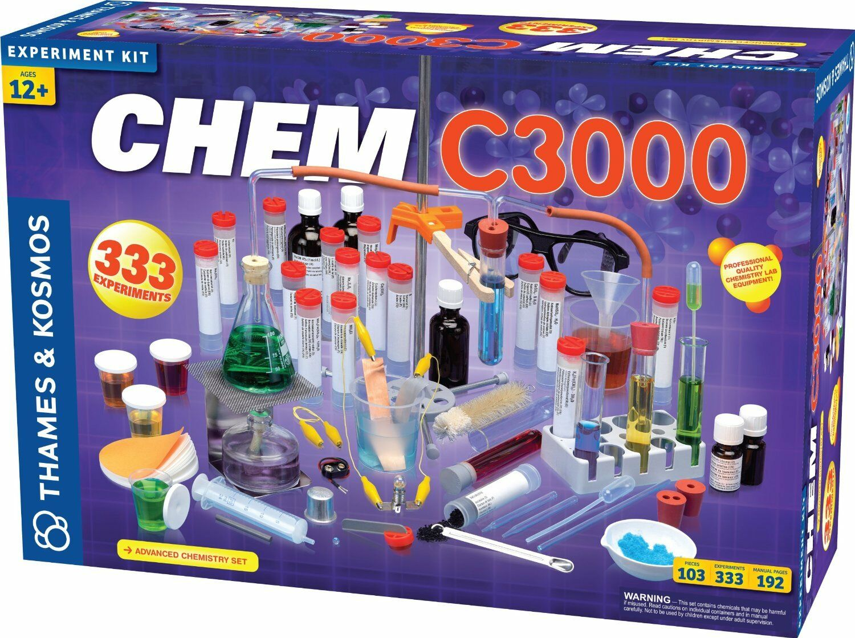 Die themse und kosmos 640132 chem c3000 insgesamt chemiebaukasten       - beliebt