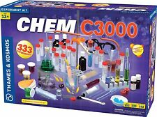 THAMES AND KOSMOS 640132 CHEM C3000 TOTAL CHEMISTRY SET***-POPULAR***