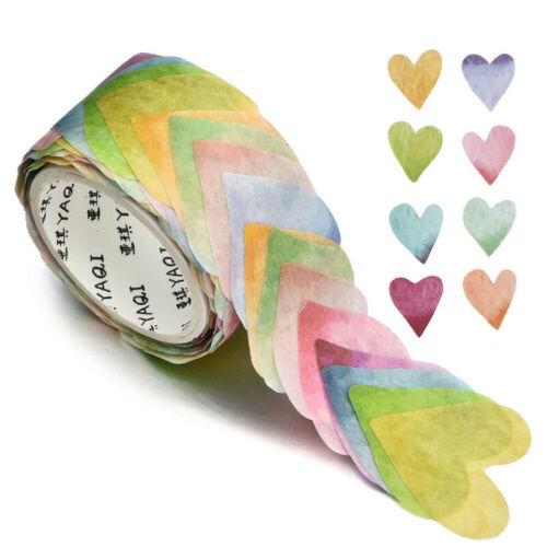 200PCS//Roll Floral Washi Tape Sticker Petals Adhesive Decals Scrapbooking DIY