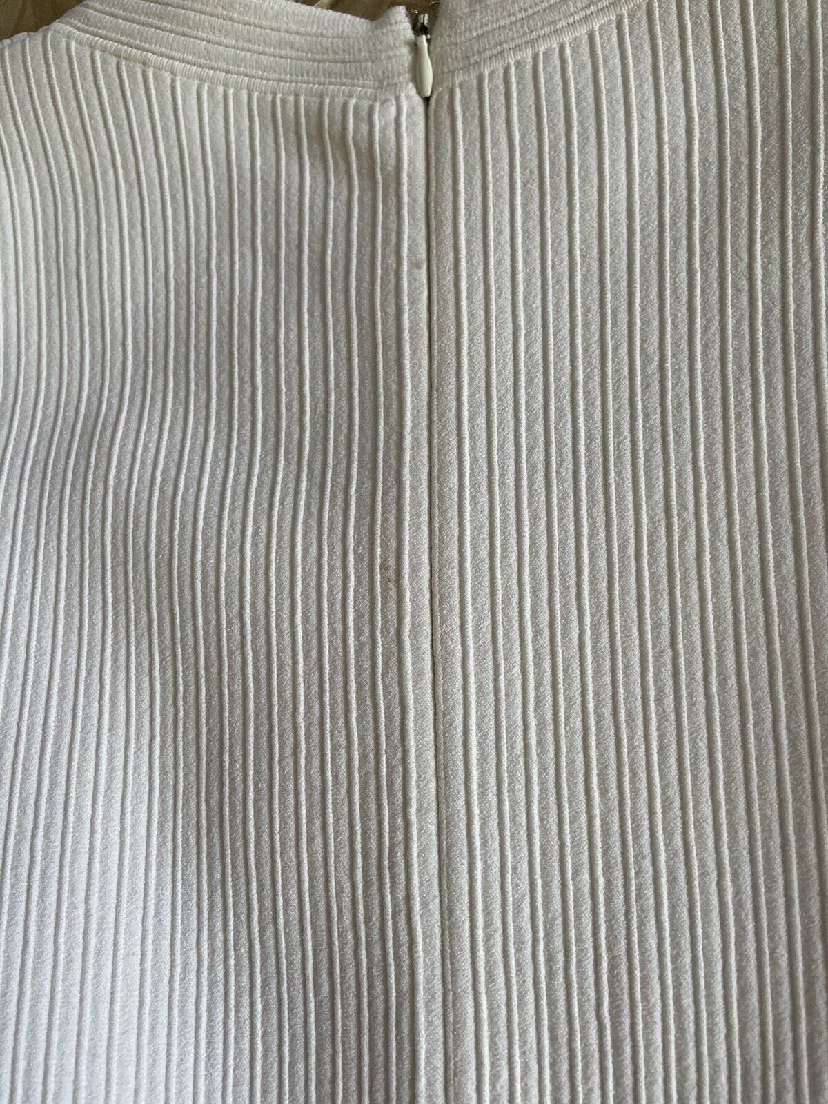Azzedine Alaia White Long Sleeve Top Blouse Dress… - image 12