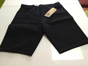 Levi's 501 Original Herren Shorts Bermuda Schwarz Gr: wählbar neu mit Etikett