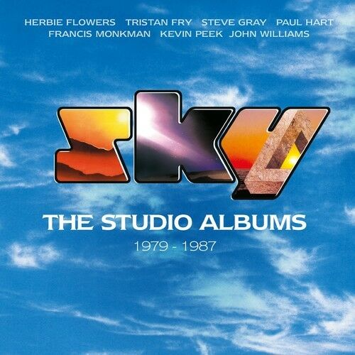 Sky - Studio Albums 1979-1987 [New CD] With DVD, Boxed Set, UK - Import