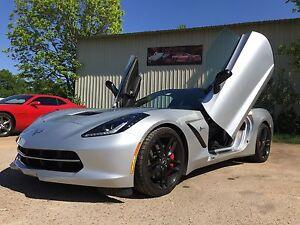 C7 New Corvette Vertical Doors Inc Bolt On Lambo Door Kit Or Best Offer Ebay
