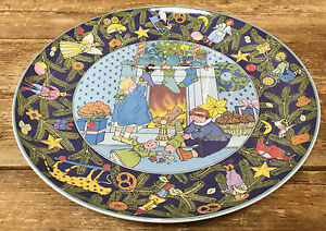 Villeroy Boch Noel Europe Collectors Plate Christmas in Europe ...